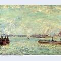 The seine at point du jour 1878