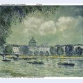 The seine with the institute of france