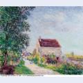 The village of sablons 1885