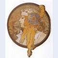 Byzantine head the blonde