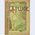 Cover composed by mucha for the french literary and artistic review la plume