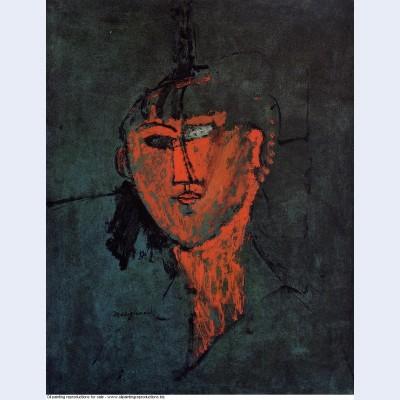 A head 1915