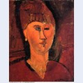 Head of red haired woman 1915
