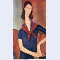Jeanne hebuterne with a scarf 1919