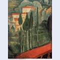 Landscape southern france 1919