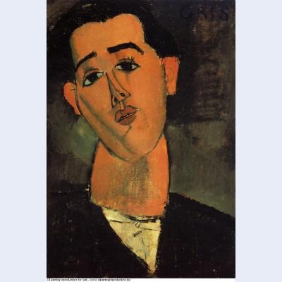 Portrait of juan gris 1915