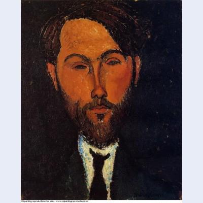 Portrait of leopold zborowski 1