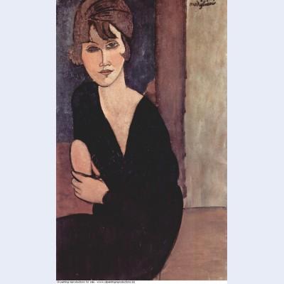 Portrait of madame reynouard 1916