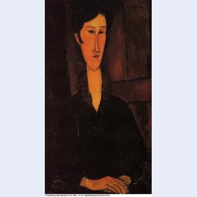 Portrait of madame zborowska 1917