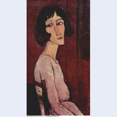 Portrait of margarita 1916