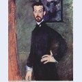 Portrait of paul alexander on green background 1909