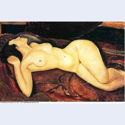 Recumbent nude 1917