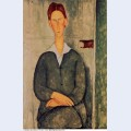 Red haired young man 1919