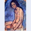 Seated nude 1909