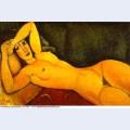 Sleeping nude 1917