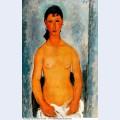 Standing nude elvira 1918