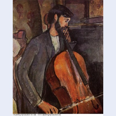 Study for the cellist 1909