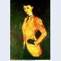 Woman in yellow jacket amazon 1909