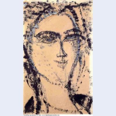 Woman s head 1915 2
