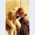 A female nude