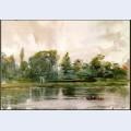 Study of landscape in richmond