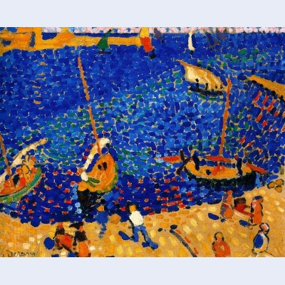Boats at collioure
