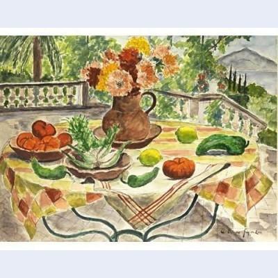 Fenouil poivrons et tomates