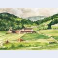 Vall e du morin en juin ferme de tigeaux