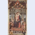 Altarpiece of san zeno in verona central panel madonna and angels