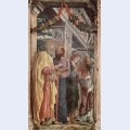 Altarpiece of san zeno in verona left panel of st peter and st paul st john the evangelist st