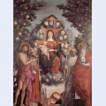 Madonna with saints st john thebaptist st gregory i the great st benedict