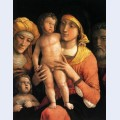 The holy family with saints elizabeth and the infant john the baptist jpg