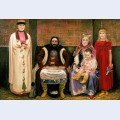 Family of merchant in xvii century