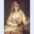 Portrait of a woman as a vestal virgin 2