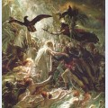 Ossian receiving the ghosts of the french heroes