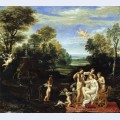 Landscape with the toilet of venus
