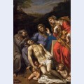Pieta with st francis and mary magdalene