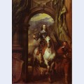 Equestrian portrait of charles i king of england with seignior de st antoine
