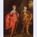 George villiersnd duke of buckingham and his brother lord francis villiers