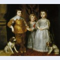 Portrait of the three eldest children of charles i