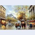 Boulevard des capucines et madeleine