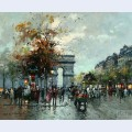 Champs elysees arc de triomphe 2