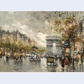 Champs elysees arc de triomphe 3