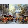 Flower market madeleine