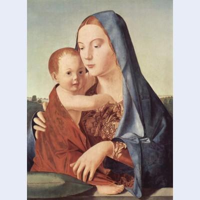Madonna and child madonna benson