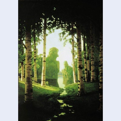 A birch grove 9