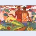 Hawaiian boy and girl