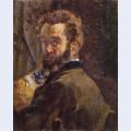 Autoportrait au chevalet