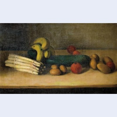 Still life with cucumber