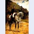 Retrato ecuestre de bolivar